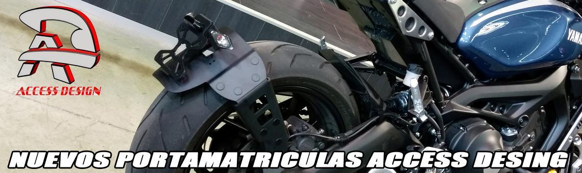 PORTAMATRICULAS MOTO