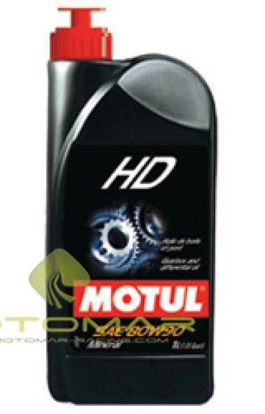 ACEITE TRANSMISION MOTUL  GEAR BOX HD  80W90 1L