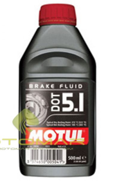LIQUIDO FRENO MOTUL DOT 5.1 500ML