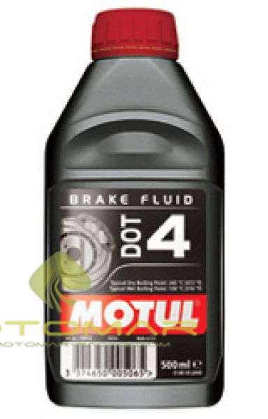 LIQUIDO FRENO MOTUL DOT 4 500ML