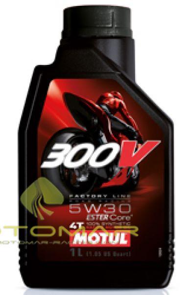 ACEITE MOTUL 300V RACING 5W30 4T 1L