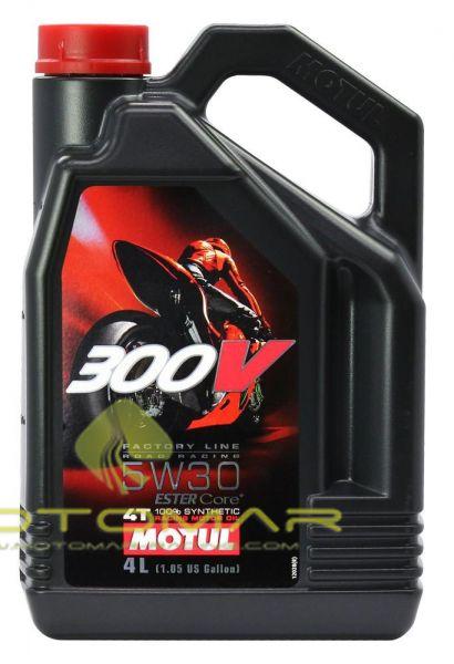 ACEITE MOTUL 300V RACING 15W60 4T 4L