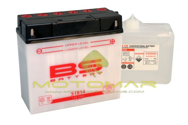BATERIA BS BATTERY 51814