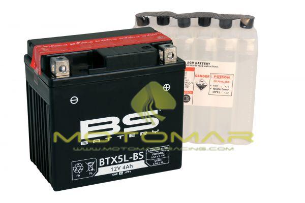 BATERIA BS BATTERY BTX5L-BS