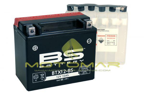 BATERIA BS BATTERY BTX12-BS