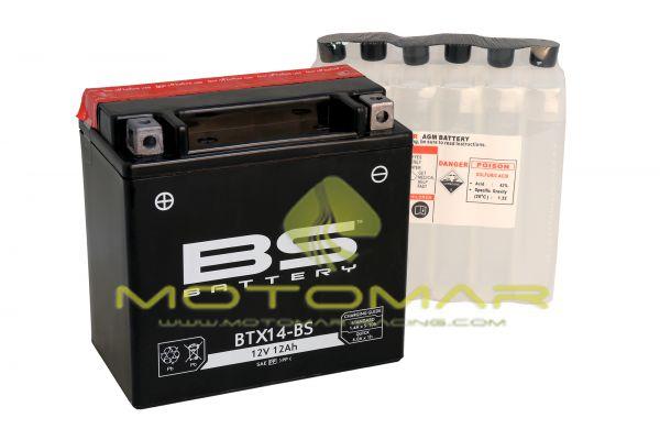 BATERIA BS BATTERY BTX14-BS