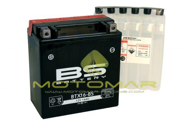 BATERIA BS BATTERY BTX16-BS