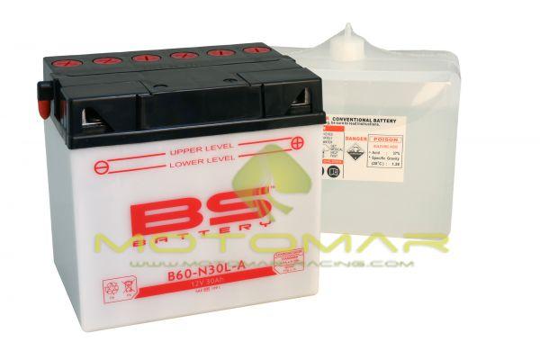 BATERIA BS BATTERY B60-N30L-A