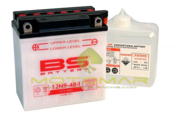 BATERIA BS BATTERY 12N9-4B-1