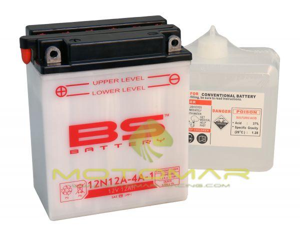 BATERIA BS BATTERY 12N12A-4A-1