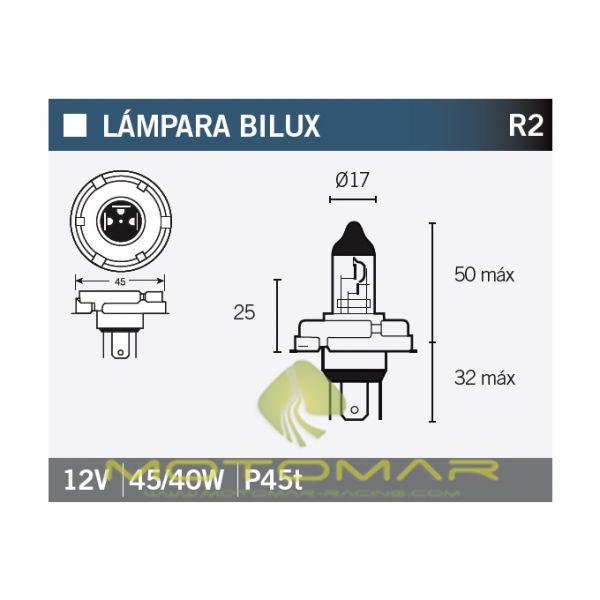 LAMPARA OSRAM 64183 R2