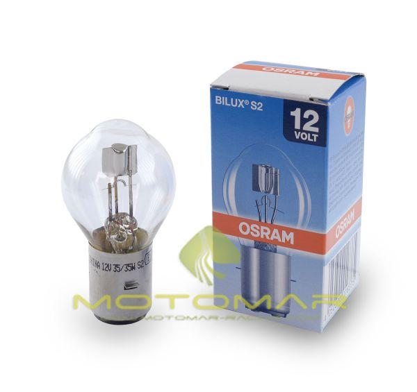 LAMPARA OSRAM BILUX 12V35/35W