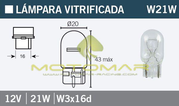 LAMPARA OSRAM 7505 W21W