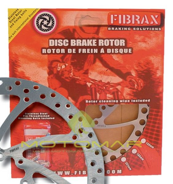 DISCO DE FRENO FIBRAX ESTANDAR 160 MM 6 AGUJEROS