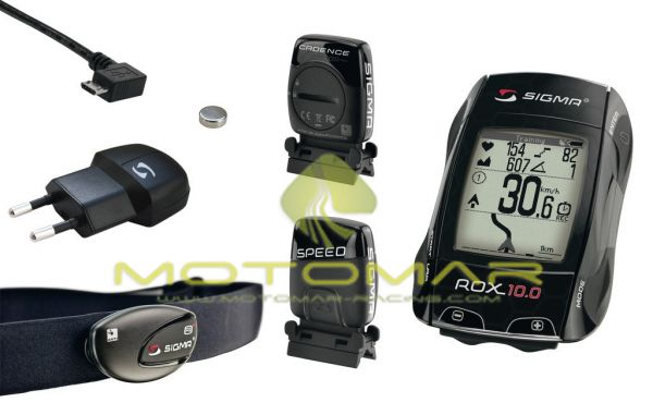 CICLO COMPUTADOR SIGMA ROX 10 SET GPS