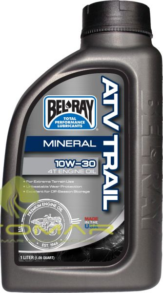 ACEITE BELRAY TRAIL 4T 10W30 MINERAL 1L