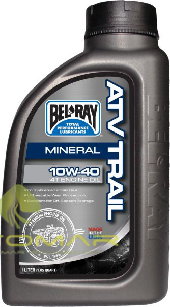 ACEITE BELRAY TRAIL 4T 10W40 MINERAL 1L
