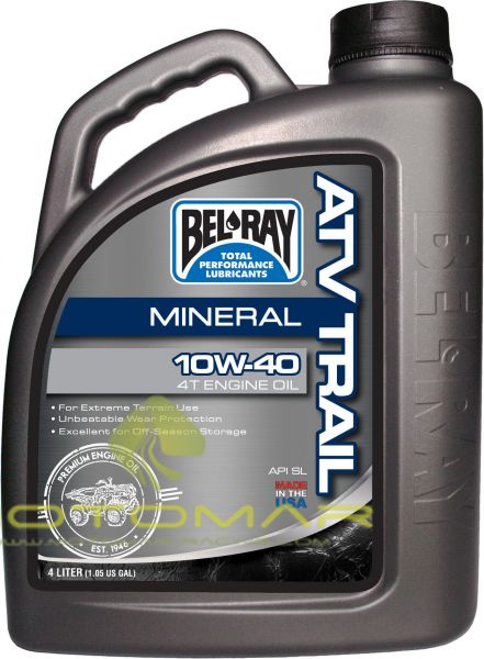ACEITE BELRAY TRAIL 4T 10W40 MINERAL 4L