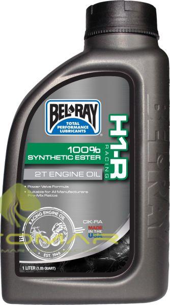 ACEITE BELRAY 2T H1-R RACING SINTETICO 1L