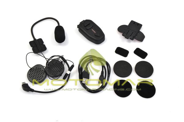KIT INTERFONO BLUETOOTH BIKECOMM SALUT INDIVIDUAL