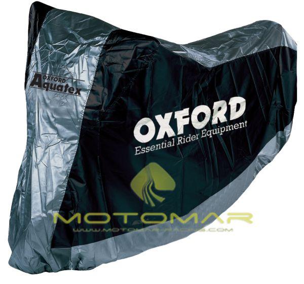 FUNDA MOTO OXFORD CV117 CON GUARDA CASCO TALLA L 246CM