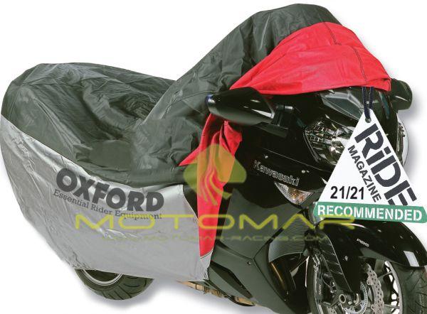 FUNDA MOTO OXFORD OF923 CON BOLSILLO FRONTAL TALLA M 170CM