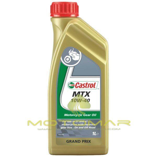 ACEITE CASTROL MOTO MTX 10W40 2T 1L