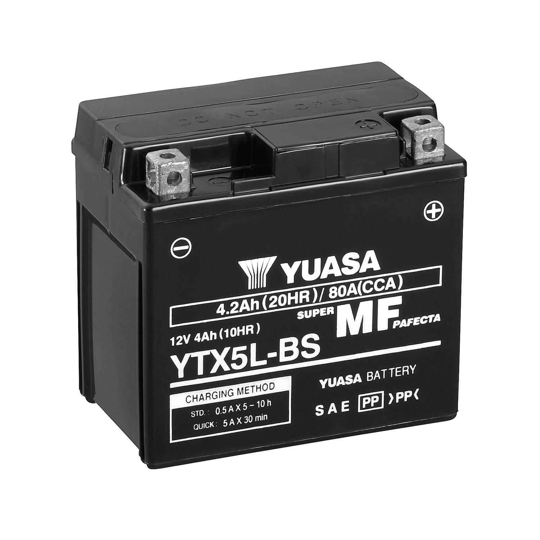 BATERIA YUASA YTX5L-BS