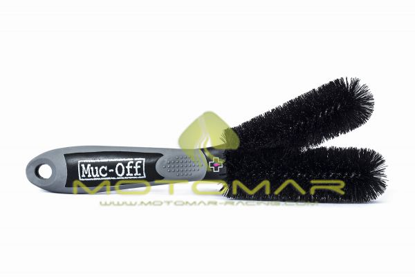 CEPILLO LIMPIEZA BICICLETA MUC-OFF BRUSH 2 PRONG