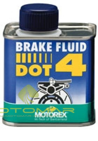 LIQUIDO FRENO MOTOREX DOT 4 250ML