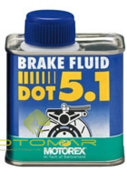 LIQUIDO FRENO MOTOREX DOT 5.1 250ML
