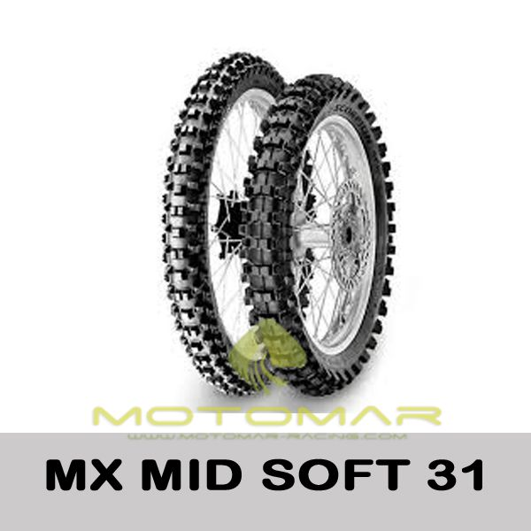 PIRELLI MX MIDSOFT32 2.50  10 33 J