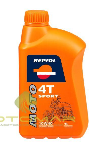 ACEITE REPSOL MOTO SPORT 10W40 4T 1L