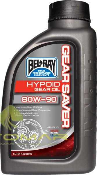 ACEITE BELRAY CAJA CAMBIO GEAR SAVER HYPOID 80W90 1L
