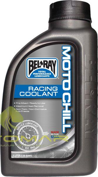 LIQUIDO REFRIGERANTE BELRAY MOTO CHILL RACING COOLANT 4L