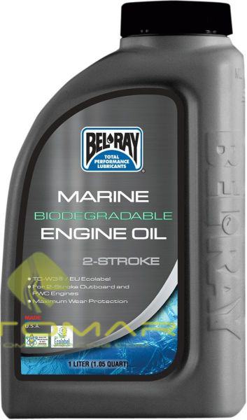 ACEITE BELRAY 2T MARINE BIODEGRADABLE 1L