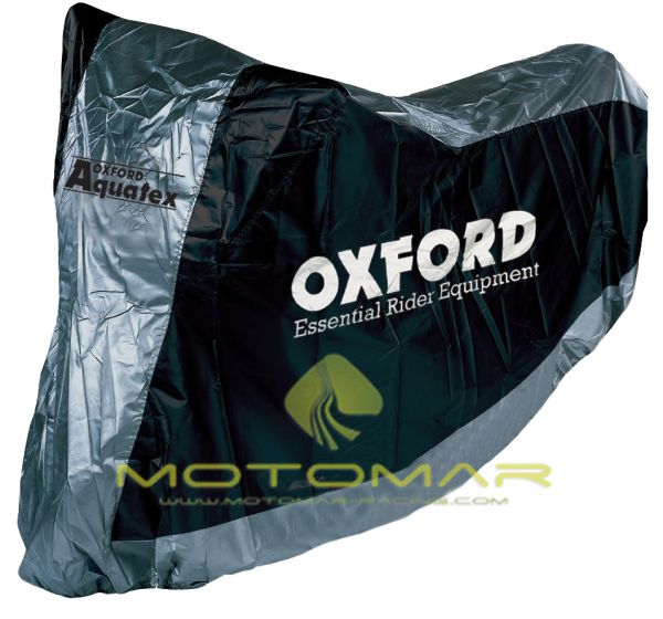 FUNDA MOTO OXFORD CV117 CON GUARDA CASCO TALLA L 246CM