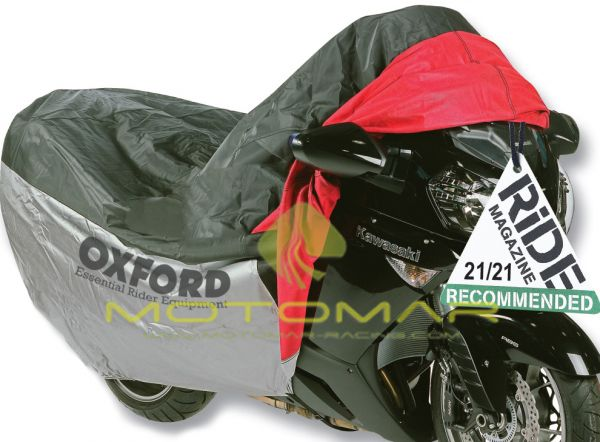 FUNDA MOTO OXFORD OF923 CON BOLSILLO FRONTAL TALLA M 170CM