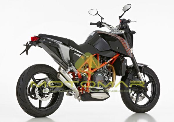 ESCAPE HURRIC PRO 2 INOX KTM DUKE 690 / KTM DUKE 690R 12/19