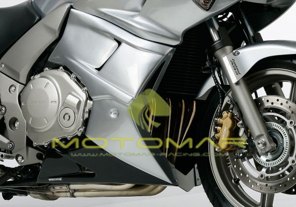 KIT CARENADOS LATERALES BODYSTYLE HONDA CBF 1000S 06> GRIS