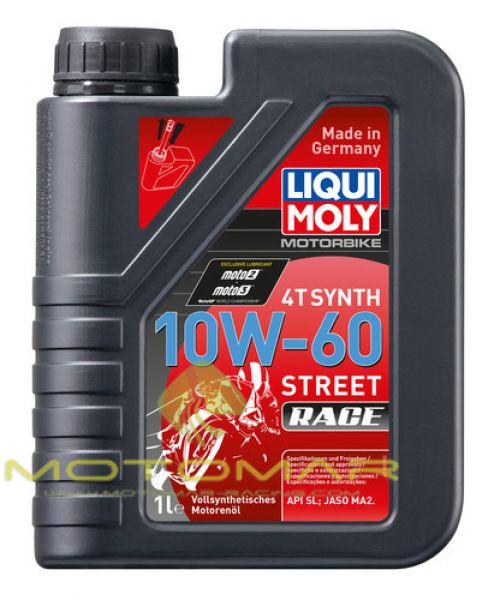 ACEITE LIQUI MOLY 10W60 SINTETICO 1L