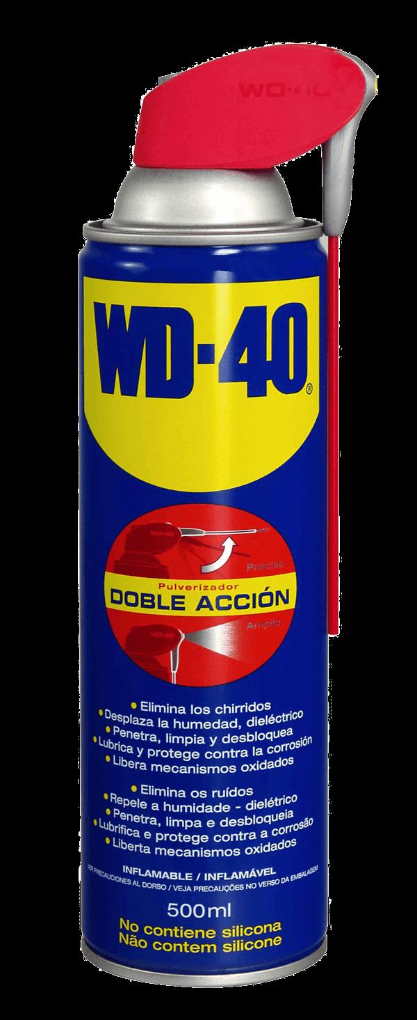 SPRAY LUBRICANTE WD-40 500ML CON APLICADOR DOBLE USO