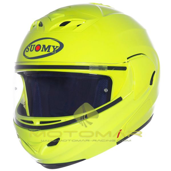 CASCO SUOMY D20 PLAIN YELLOW TALLA M