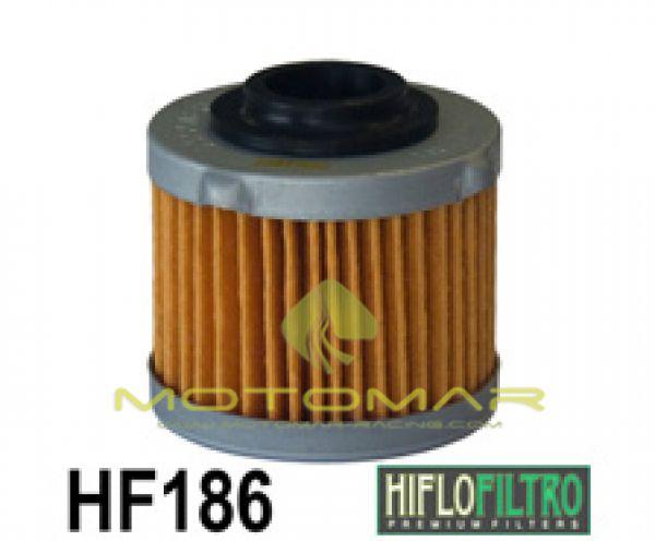 FILTRO ACEITE HIFLOFILTRO HF186