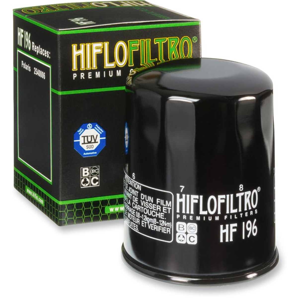 FILTRO ACEITE HIFLOFILTRO HF196