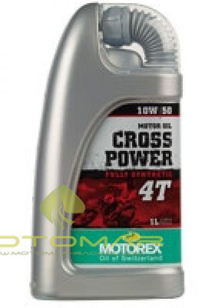 ACEITE MOTOREX CROSS POWER 4T FS 10W50 1L