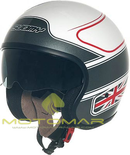 CASCO SUOMY APEX 70S UK FLAG TALLA L